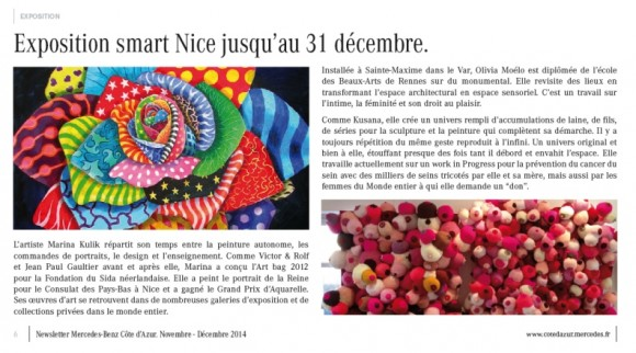 Newsletter Mercedes December